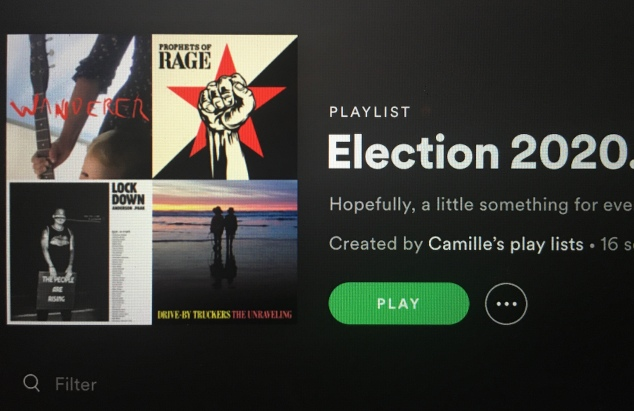 spotify election playlist jpg